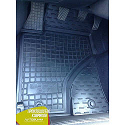 Авто коврики в салон Geely GC7 2015- (Avto-Gumm) Автогум