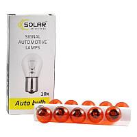 Галогеновая лампа SOLAR PY21W Amber 12V (1251)