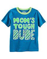 Детская футболка с принтом который светится в темноте Ош Кош для мальчика
