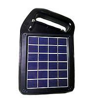 Портативный радиоприемник Golon RX-498 BT bluetooth с солнечной панелью, фото 1