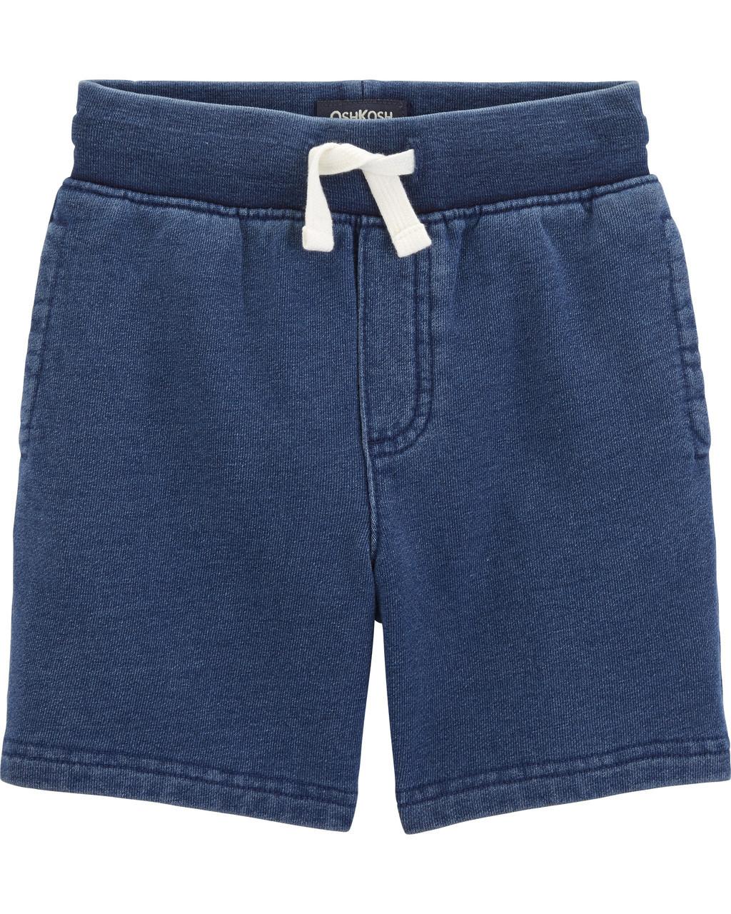 Детские летние шорты на футере ОшКош для мальчика