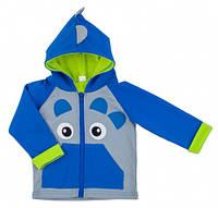 Куртка для мальчика Дракончик, Danaya, серый и синий (104 р.) (062F/17_104-56)