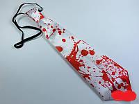 Галстук с кровью светящийся Хэллоуин 32 см, фото 1