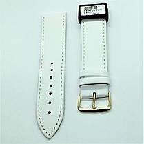 22 мм Кожаный Ремешок для часов CONDOR 340.22.09 Белый Ремешок на часы из Натуральной кожи, фото 2