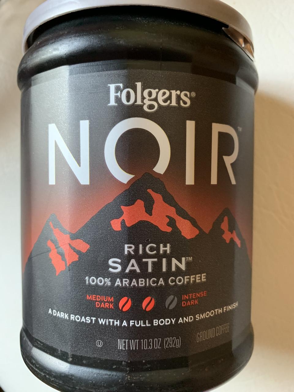 Кофе молотый FOLGERS Noir Rich Satin
