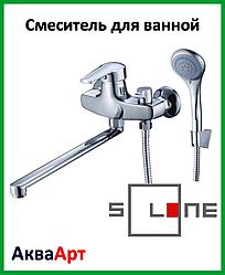 Смеситель для ванны длинный Solone SIT7