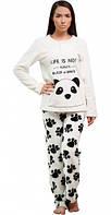 Женская пижама Панда, Danaya, белая (48 p.) (T005_L)