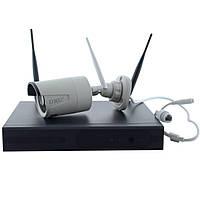 DVR KIT CAD 8004 WiFi 4ch  комплект видеонаблюдения на 4 камеры, фото 1
