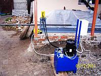 Гидравлический перфорационный станок для труб 40х40х2мм, фото 1