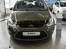 Дефлектор капота SIM FORD S-MAX, 10- темный