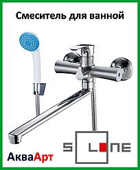 Смеситель для ванны длинный Solone FAB7