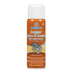 Медный Permatex спрей-герметик Copper Spray-A-Gasket Hi-Temp Sealant 350 мл (80697)