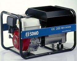 Электростанции SDMO бензиновые