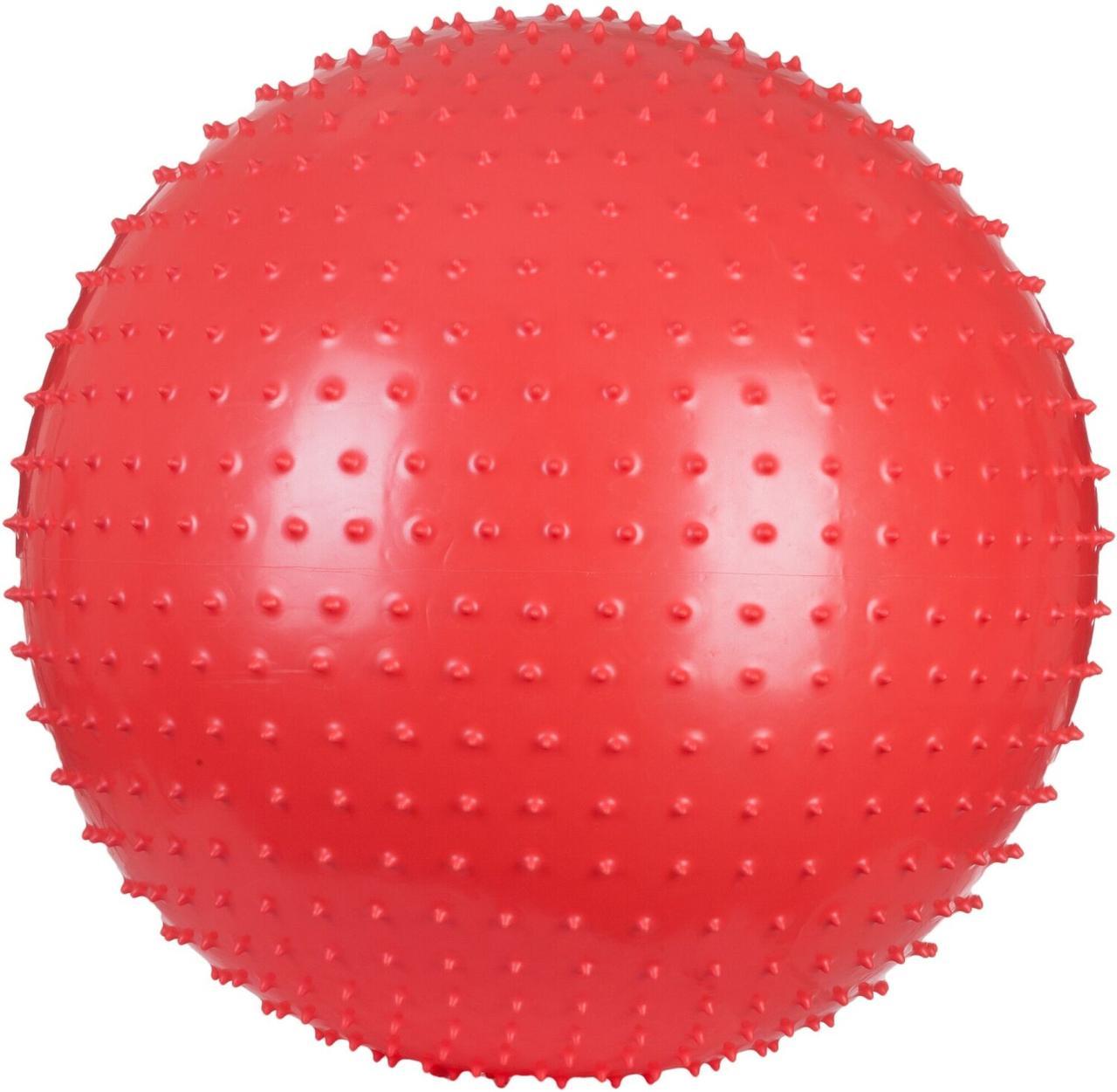 Мяч массажный Torneo, 65 см, Красный