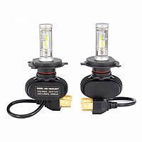 Комплект светодиодных LED ламп Xenon S1 H4