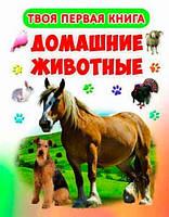 Домашние животные, Твоя первая книга, Кристалл Бук (9789669363916)
