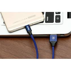 Кабель синхронизации Baseus Yiven USB-microUSB 2.0 A 1 м Blue (CAMYW-A13)