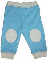 Штаны для мальчика, Danaya, голубые с серым (80 р.) (092G/80-48)
