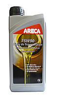 Синтетическое трансмиссионное масло Areca 75w90