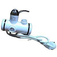 Проточный водонагреватель  c душем боковое подключение