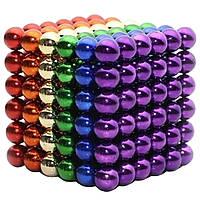 Головоломка Неокуб NeoCube 216 шариков по 3мм - ЦВЕТНОЙ