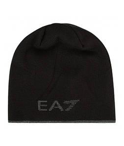 Шапка женская EA7 EMPORIO ARMANI JET BLACK