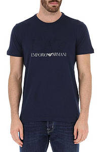 Футболка мужская Emporio Armani Clothing for Men NAVY BLUE