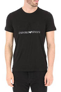 Футболка мужская Emporio Armani Clothing for Men BLACK