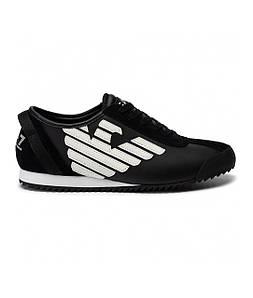 Кроссовки мужские Sneakers EA7 EMPORIO ARMANI BLACK+OFF WHITE
