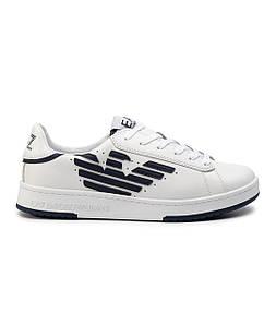 Кроссовки мужские Sneakers EA7 EMPORIO ARMANI NAVY+WHITE