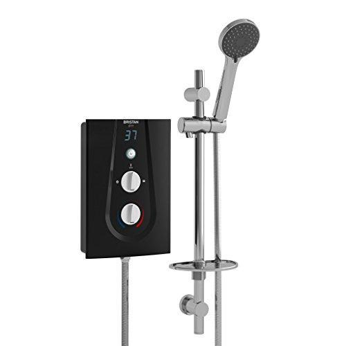 Электрический душ Bristan GLE395 B 9,5 кВт Glee 3 - черный [Класс энергопотребления A]