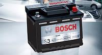 Аккумуляторы Bosch S3 56Ah / пусковой ток 480A