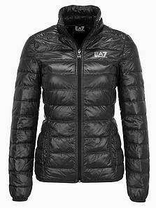 Курта пуховик женская EA7 EMPORIO ARMANI jacket BLACK