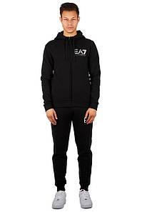 Спортивный костюм мужской TRACKSUIT REGULAR FIT BLACK Armani