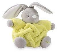 Мягкая игрушка Kaloo Neon Кролик желтый 18,5 см в коробке  (K962318)