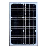Солнечная панель 30W 37*3.5*65 18V