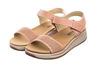 Жіночі сандалі Desun 41 pink - 187396