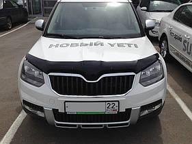 Дефлектор капота SIM  Skoda Yeti 2013-