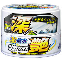 Твердый воск для светлых и белых авто SOFT99 Water Block Wax водоотталкивание и блеск 00341