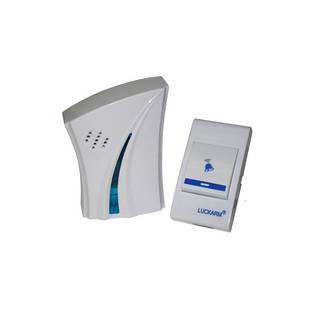 Беспроводной дверной звонок LUCKARM 8610 Белый (44278)