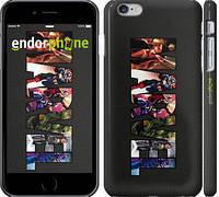 "Чехол на iPhone 6 Plus Marvel v2 ""2826c-48"""