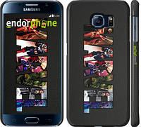 "Чехол на Samsung Galaxy S6 G920 Marvel v2 ""2826c-80"""