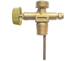 Вентиль газа Vita для плиты Турист Золотистый (GP-0008)