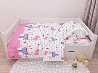 Комплект постельного белья Ранфорс Kitti 165 Marcel Подростковый