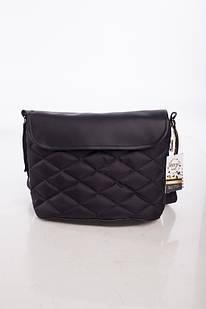 Универсальная сумка на коляску 2в1 DECOZA.MOMS эко кожа 34х23х12 см Черный (DM-SK-1)