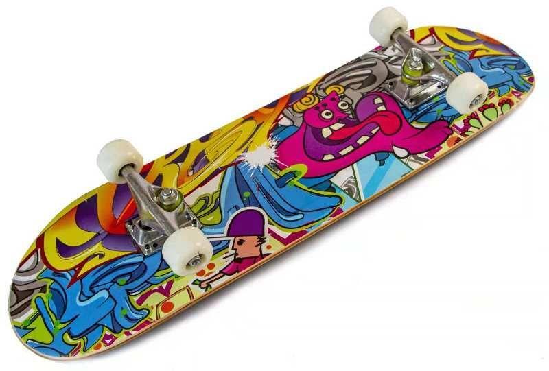 """Скейтборд з клена """"Graffity"""" до 85 кг"""