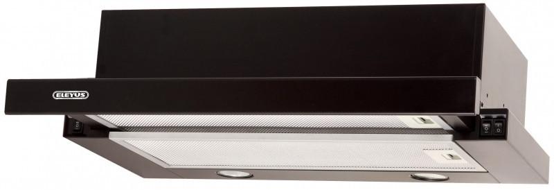 Кухонная вытяжка Eleyus Шторм G LED 700 / 60 (белая, бежевая, черная)