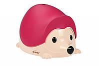 Детский горшок QCBABY ЁЖИК розовый (QC9903pink)
