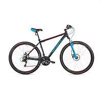 """Велосипед AVANTI  27.5"""" SPRINTER 650B (21"""") черно красный с синим"""