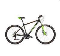 """Велосипед AVANTI  27.5"""" SPRINTER 650B (21"""") черно оранжевый с зеленым"""